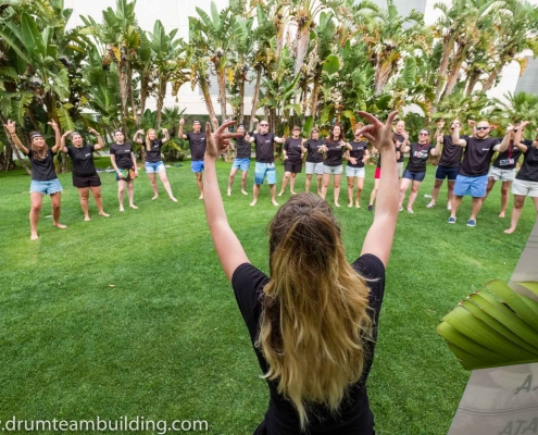 haka team building madrid_3