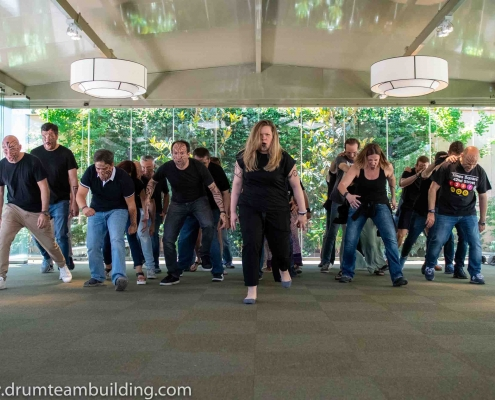 Haka team building Madrid_5