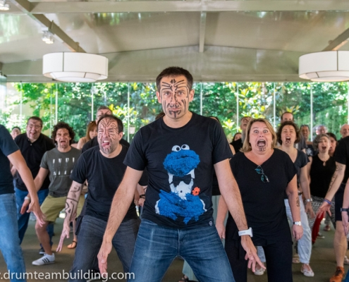 Haka team building Madrid_6