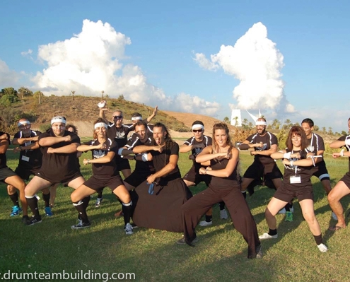 HAKA TEAM BUILDING EXTERIOR